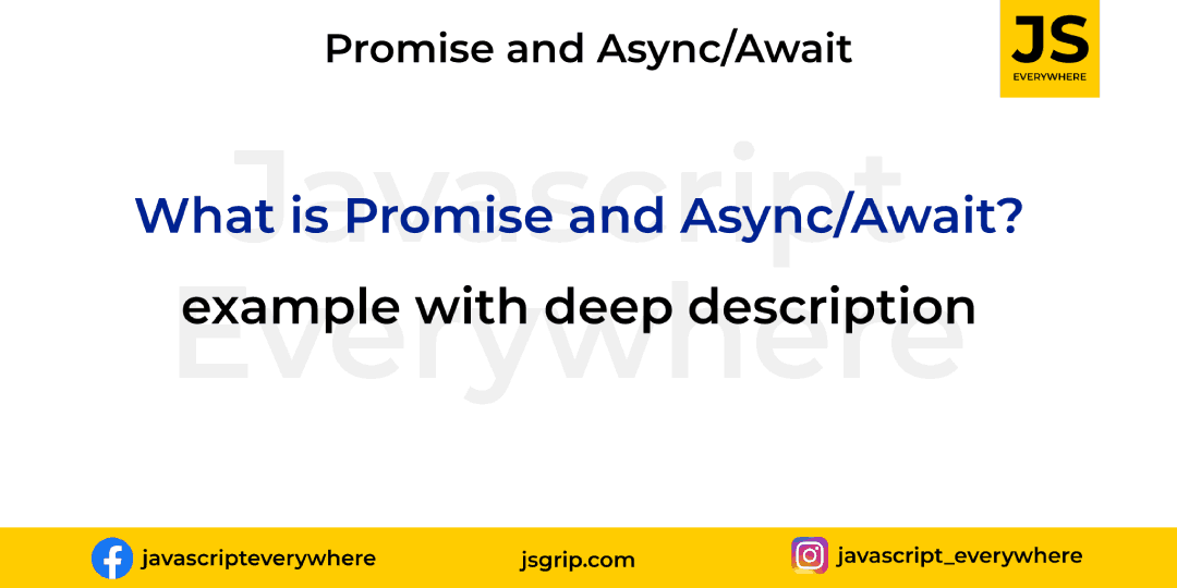What is promise and Asyns/Await?