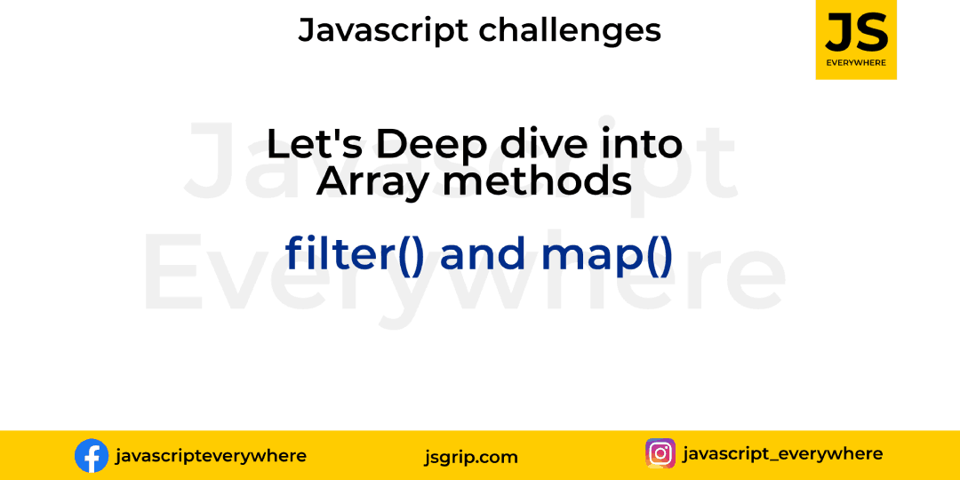 Array: filter and map method